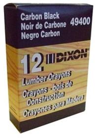 Black Dixon Lumber Crayons Dz/Bx