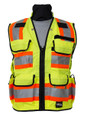 SECO 8265 Safety Utility Vest - Flo Orange or Flo Yellow (2 to 4 WEEK BACKORDER)