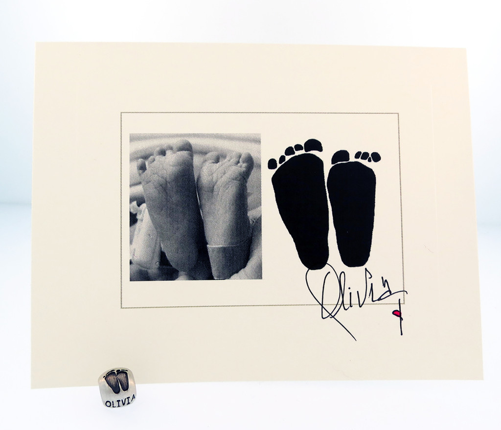 Classic Baby Bead - Custom Feet