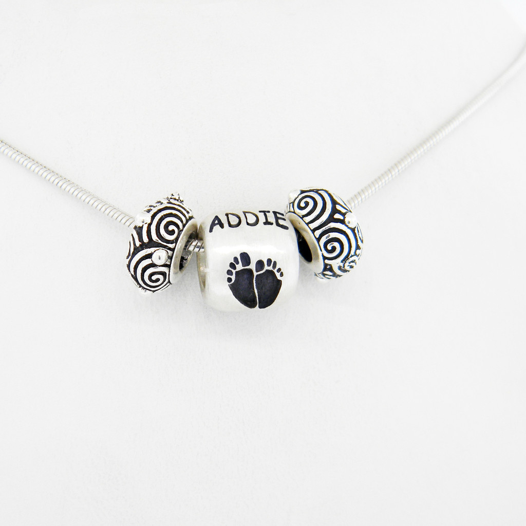 Classic Baby Pendant with Chain