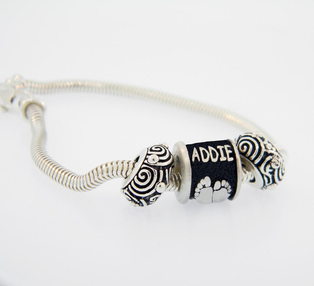 Baby Bead - Raised and Bracelet