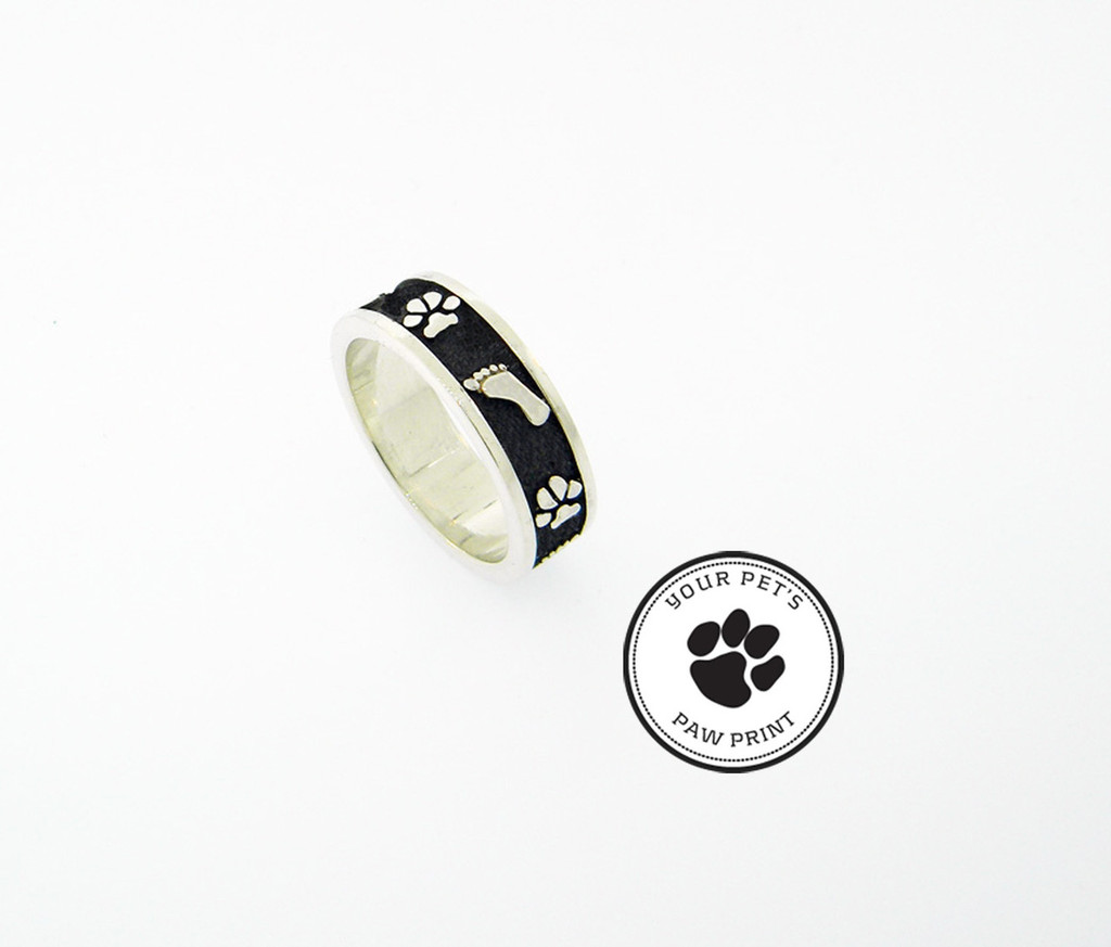 Bonding Ring with Custom Paws