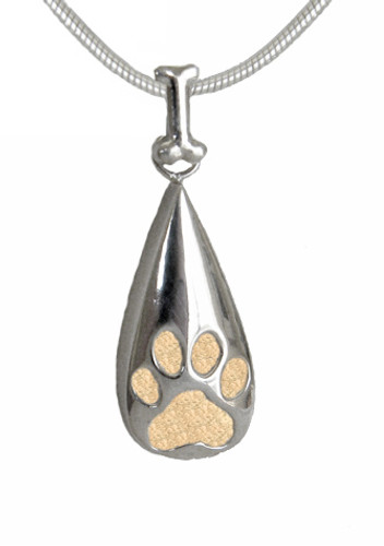 Bone Bail Tear Drop Keepsake