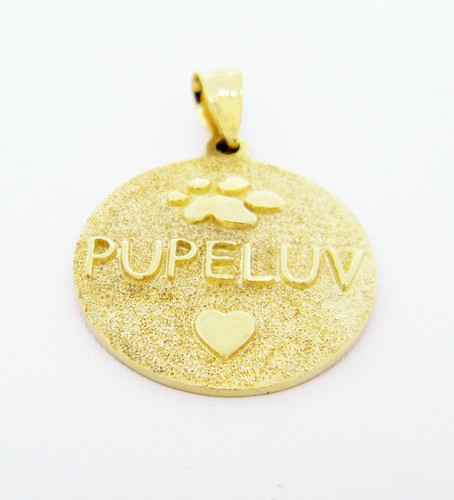 Medallion Pendant - Gold