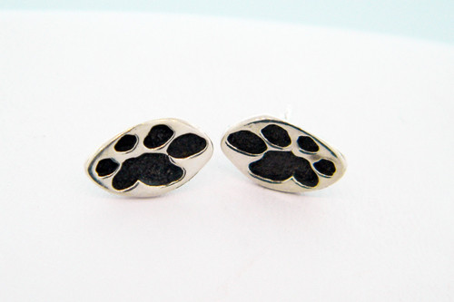 Single Paw Earrings