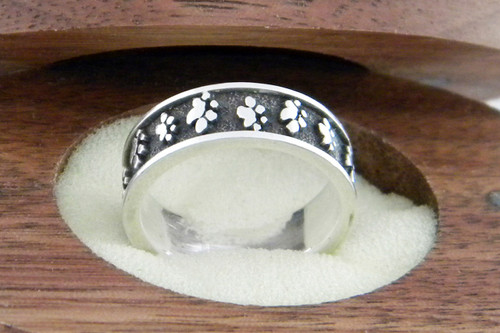 Journey Ring with Raised Details