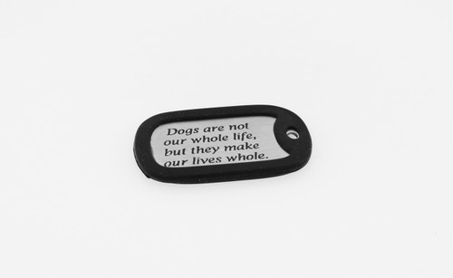 Memorial Dog Tag - Stainless Steel