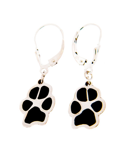 Custom Paw Hanging Earrings