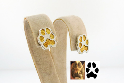 Shown with Gold Paw
