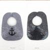 FRONT: Stone w/Black Anchor BACK: Black