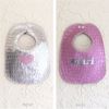 Embossed Vinyl Bib - Heart