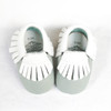 Moccasins - Sea Foam & Coconut
