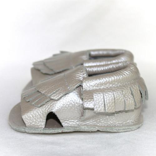 Leather Sandals - Seashell