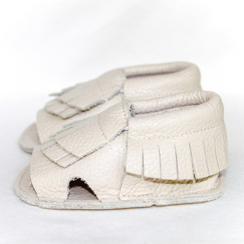 Leather Sandals  - Sandstone