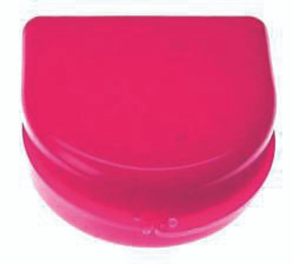 Pink Sparkle Retainer Cases - 25 pk