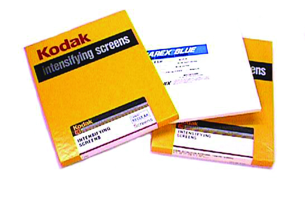 Intensifying Screen-Ektavision by Kodak