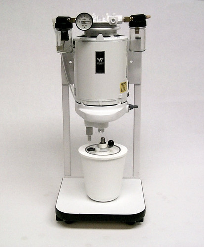 Stamdard Vacuum Spatulator w/ Table Stand