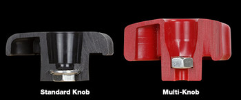 "Woodpeckers | Multi Knob - 4 Pack (for 5/16"" Hardware) (MKNB516X4)"