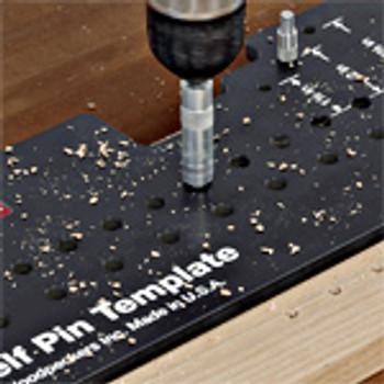 Woodpeckers | Combo Shelf Pin Template (SPT-COMBO)