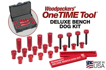 Deluxe Bench Dog Kit, 3/4 Inch in Systainer Case - A  Scheduled to ship Sept 2018 (BDK-SYS34-A)
