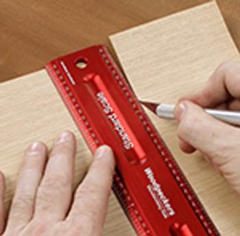 Woodpeckers   Woodworking Rule 600mm (WWR600)