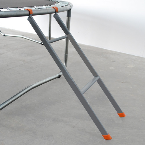 Two rung trampoline ladder for 10ft trampoline