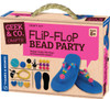 Flip-Flop Bead Party Geek & Co. Crafts!