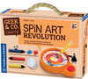 Spin Art Revolution Geek & Co. Crafts!