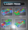 Sports Car Power Block Laser Pegs