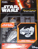 Darth Vader's Tie Advenced X1 Starfighter Star Wars Metal Earth