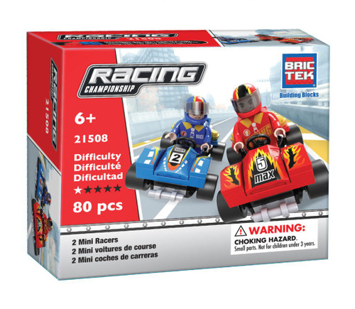2 Mini Racers BricTek