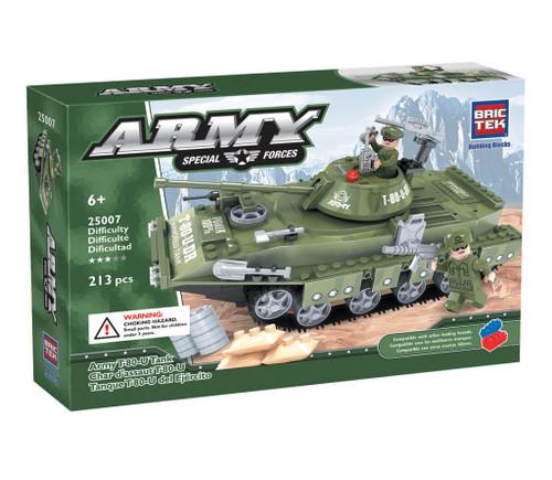 Army T-80-U Tank BricTek