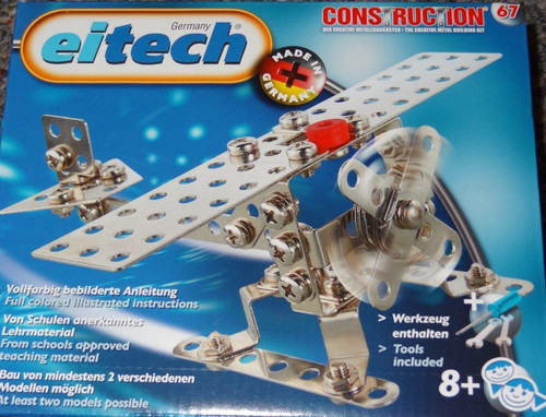 Mini Airplane and Helicopter Construction Set Eitech