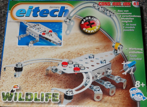 Wildlife Scorpion/Crocodile Construction Set Eitech
