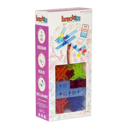 Inventor 28 Piece Set Brackitz
