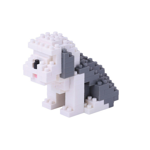 Old English Sheepdog Nanoblock