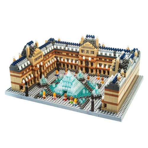 The Louvre TICO Mini Building Bricks