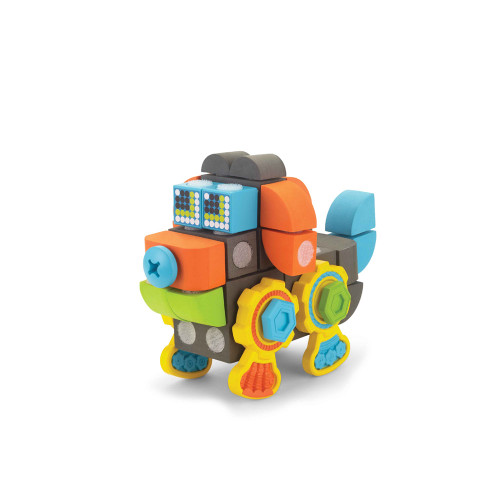 Doggy Robot Velcro Blocks