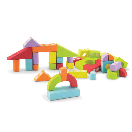 42 Piece Set Velcro Blocks