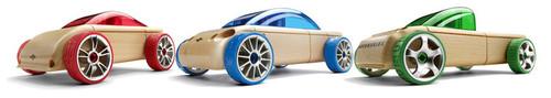 C9 Sportscar/S9 Sedan/T9 Pickup 3 Pack  Automoblox Minis