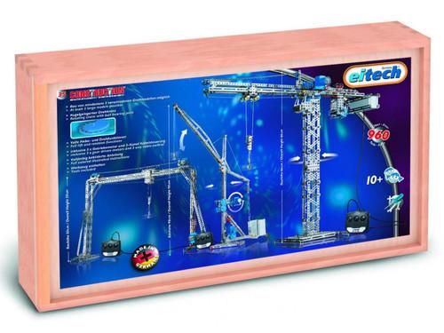 Deluxe Crane Set Construction Set Eitech