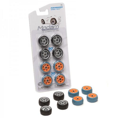 Performance Wheel Pack (Black & Orange) Modarri