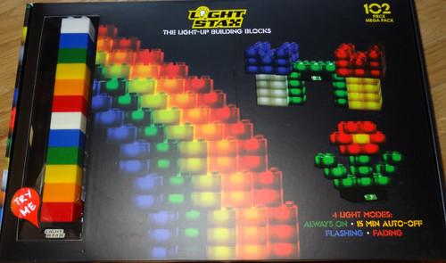Light Stax 102 Piece Mega Light Up Building Block