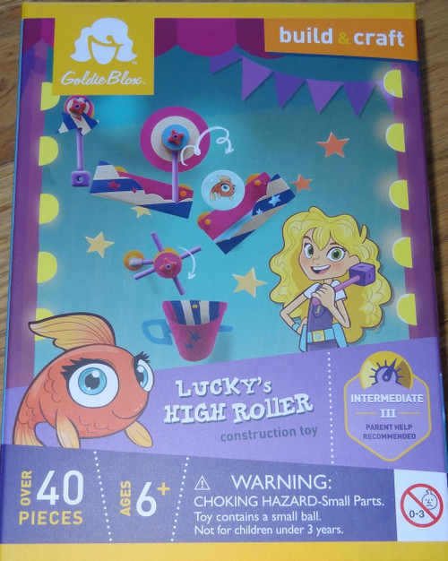 Lucky's High Roller Construction Toy GoldieBlox