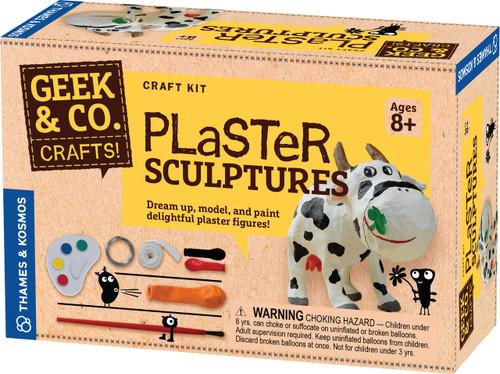 Plaster Sculptures Geek & Co. Crafts!
