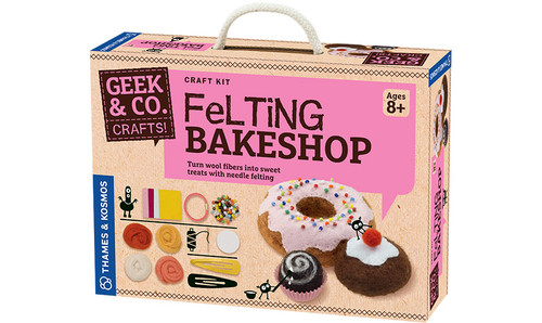 Felting Bakeshop Geek & Co. Crafts!