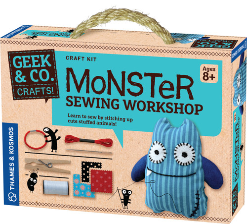 Monster Sewing Workshop Geek & Co. Crafts!