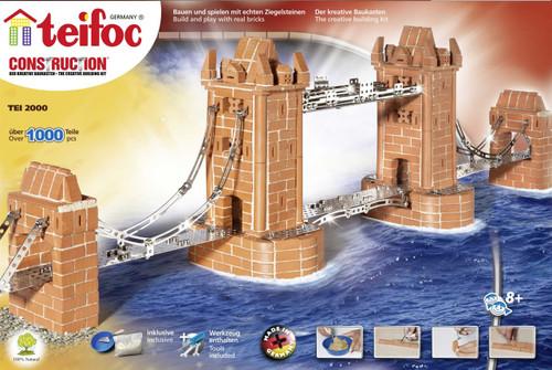 London Tower Bridge Teifoc Brick Building Kit