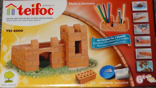 Castle/Pen Holder Teifoc Brick & Mortar  Building Kit