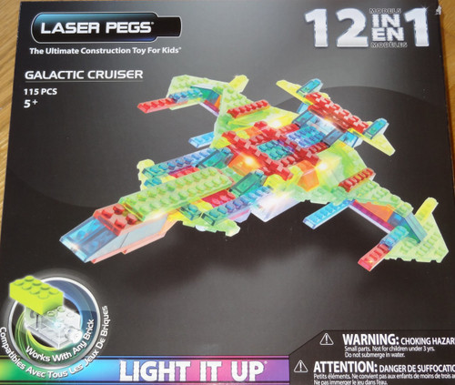 Galactic Cruiser Laser Pegs